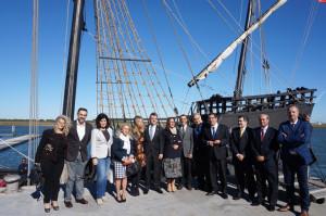 La nao Santa María viajará por puertos de toda España y EEUU.