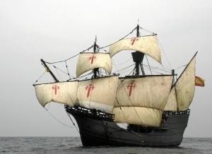 Réplica de la nave que dio la vuelta al mundo por primera vez en la historia.