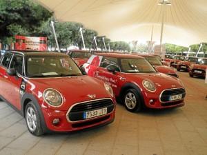 Los vehículos han sido entregados en las carpas de la avenida Andalucía.