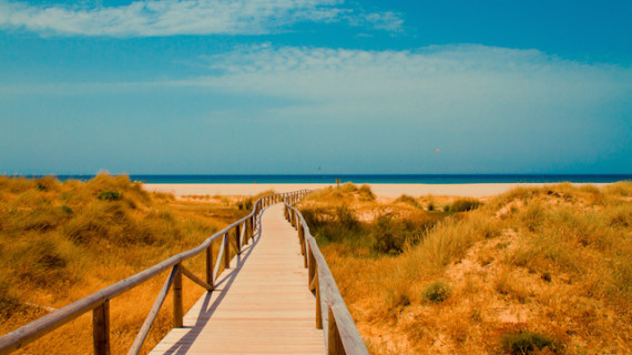 Un estudio confirma que las playas de Huelva son las de mayor volumen de arena de España