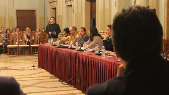 El Pleno Municipal aprueba por unanimidad apoyar la creación de un Museo Arqueológico en el edificio del Banco de España
