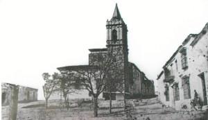 Reloj de San Pedro a comienzos del siglo XX.
