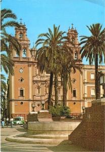 """El reloj de la S. I. Catedral o """"la Puerta del Sol"""" de Huelva."""