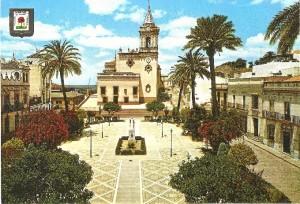 Reloj de la iglesia mayor de San Pedro.
