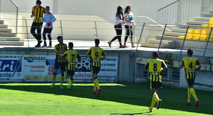 Los jugadores del San Roque quieren dar este domingo otra alegría a su afición.