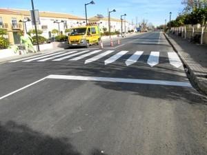 Importante inversión en la mejora en carreteras.