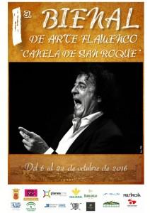 Cartel de la Bienal de San Roque.