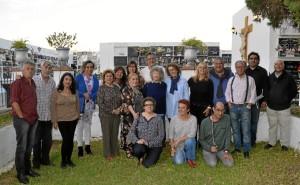 Participantes en la cita celebrada en Ayamonte.