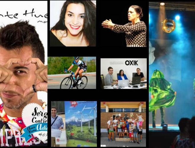 Galardonados en los Premios Huelva Joven 2016.