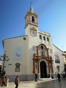 Carrasco también hizo el logo del 500 aniversario de la iglesia de la Concepción.
