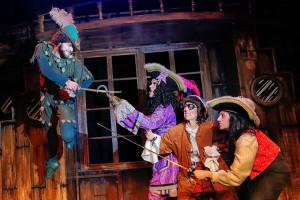 Escena de la obra musical 'Peter Pan. La batalla final'.