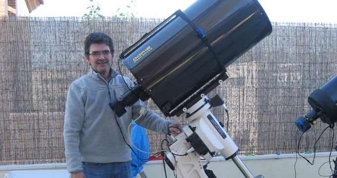 La calidad del cielo de Doñana permite al Observatorio Astronómico de Huelva convertirse en referente de una red internacional de telescopios