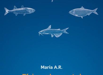 La escritora María A.R. presenta en Trigueros su primer poemario, 'Física elemental'