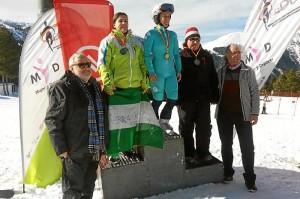La sanjuanera Marina Rodríguez se proclama campeona de España de Esquí Alpino en Andorra.