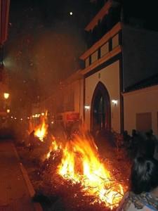 Las Candelas de Trigueros, toda una tradición.