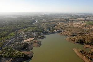 Imagen de la presa 'Los Machos'.