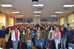 Visita de alumnos de la UHU.