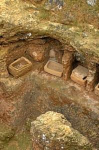 Detalle de una tumba de dos familias en el Conjunto Arqueológico de Carmona. / Foto: http://www.museosdeandalucia.es/