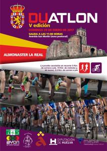 El domingo se disputará la quinta edición del Duatlón 'Aldeas de Almonaster'.