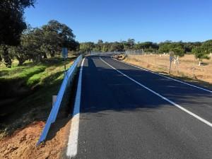 Finalizadas obras de mejora en la carretera provincial HU-4400 que une Lepe con Villablanca.