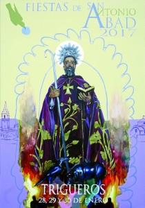 El cartel anunciador de las fiestas ha sido realizado por el artista Jesús García Osorno, premio de Bellas Artes.