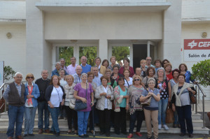 Visita a Cepsa de miembros del Centro Lazareto.