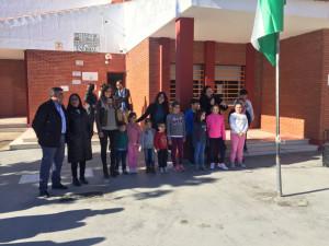 Conmemoración en el Colegio Enebral de Punta.