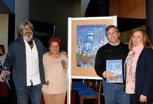 Momento de la presentación del Cartel anunciador de las Fiestas de Carnaval de Isla Cristina.