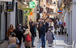 Calles del centro de Huelva.
