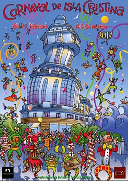 Cartel del Carnaval isleño 2017.
