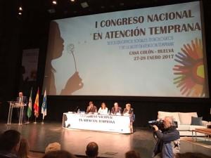 Inauguración del I Congreso Nacional de Atención Temprana.