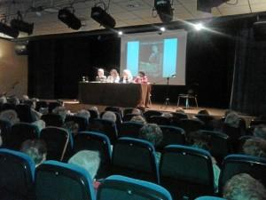 Un momento del acto en el que se ha rendido homenaje a Zenobia Camprubí.