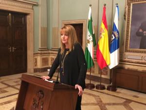 Portavoz del PP en el Ayuntamiento, Pilar Miranda.