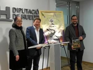 De izqda a derecha: La diputada Aurora Aguedo, el alcalde Cristóbal Guerrero y el concejal de Cultura, Manuel Morano.