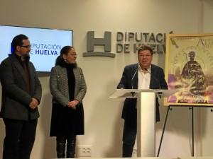Cristóbal Romero, durante la presentación de las fiestas el pasado jueves en la Diputación.