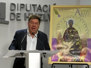 Cristóbal Romero se ha referido a las famosas tiradas durante la presentación.