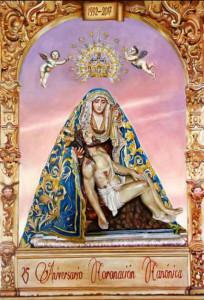 Cartel del XXV Aniversario de la Coronación Canónica de la Patrona.