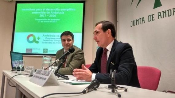 Presentan a empresarios onubenses el programa de incentivos para el Desarrollo Energético Sostenible