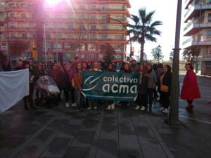 Manifestación en Huelva.