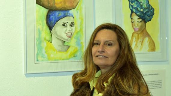 Manuela Santos muestra su camaleónica obra en la Casa Grande de Ayamonte
