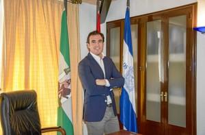 Rubén Rodríguez, alcalde de Bollullos Par del Condado.