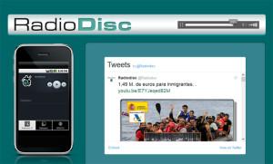 Antonio trabaja ahora en RadioDisc, una radio hecha por personas con discapacidad.