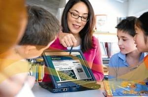 Uso de las TIC's en el aula. / Foto: sites.google.com