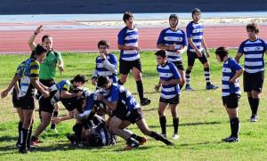 No todo es rugby en los equipos de cantera del CR Tartessos Huelva.