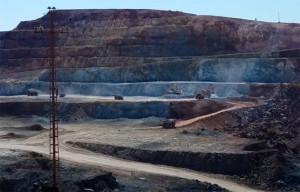 Cerro Colorado es un yacimiento minero entre Minas de Riotinto y Nerva.