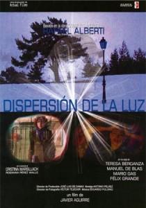 Cartel del film 'Dispersión de la luz', con música de Eduardo Polonio.