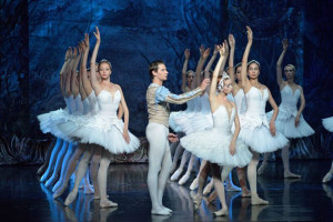 Escena de 'El lago de los cisnes'.