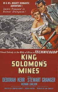 La primera versión cinematográfica de 'Las Minas del Rey Salomón' de 1950 rodó algunas escenas en Aracena. / Foto: Filmaffinity.