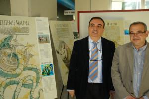 Presentación de la exposición sobre monstruos marinos en la UHU.
