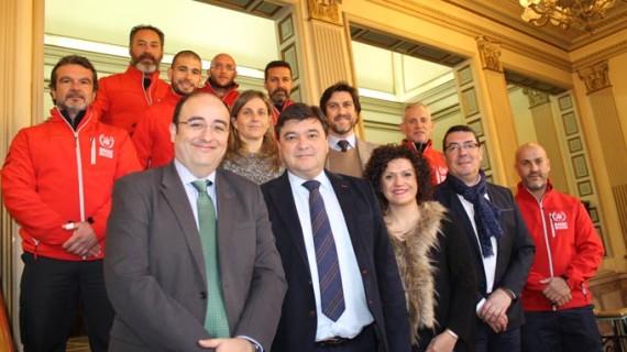 Un acuerdo permite crear un área de potabilización de emergencia en la delegación del BUSF en Huelva